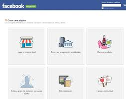 Las páginas de empresa de facebook