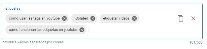 tags para youtube 2020
