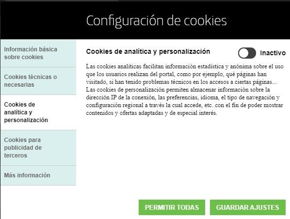 generador de políticas de cookies